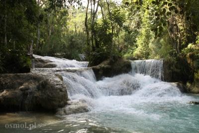 Wodospad Kuang Si Laos