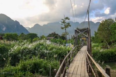 Most w Vang Vieng