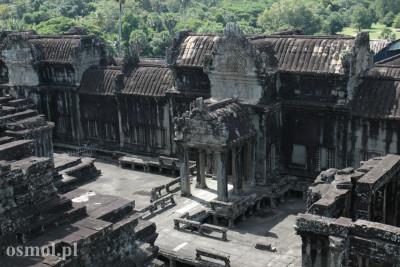 Widok na Angkor Wat