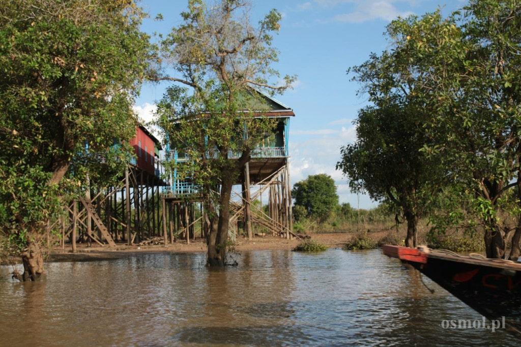Tonle Sap w drodze do Kampong Phluk