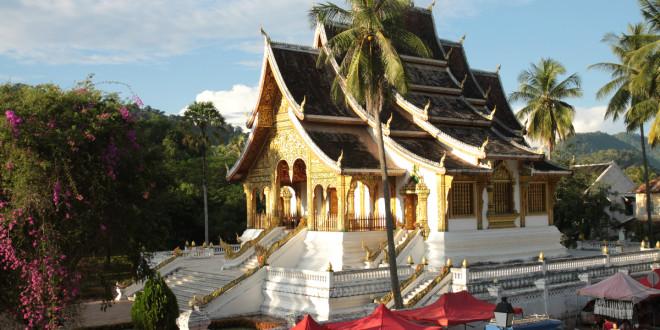 Swiatynia Haw Pha Bang w Luang Prabang
