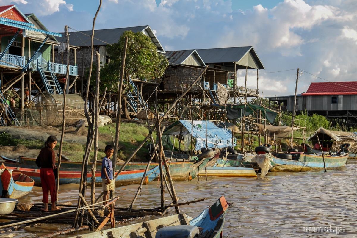 Wioska Kampong Phluk