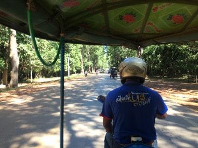 Tuk tuk do Angkor Wat