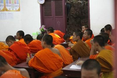 Szkoła dla mnichów w Luang Prabang