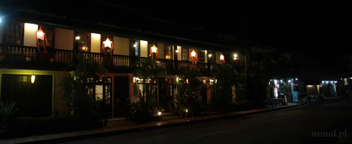 Luang Prabang w nocy