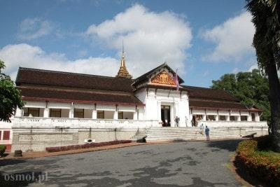 Pałac królewski w Luang Prabang w Laosie