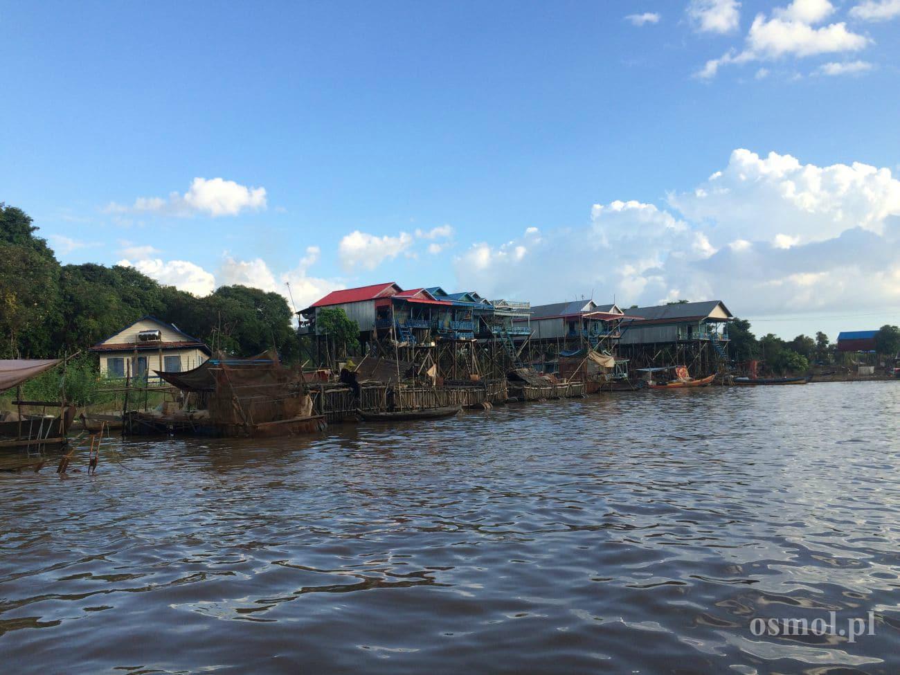 Tonle Sap - wioska Kampong Phluk