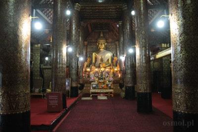 Swiatynia Wat Xieng Thong Luang Pragang