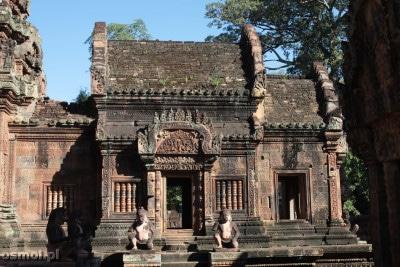 Banteay Srei w Angkorze