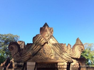 Banteay Srei - płaskorzeźby
