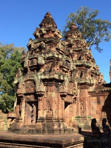 Banteay Srei jedna ze świątyń