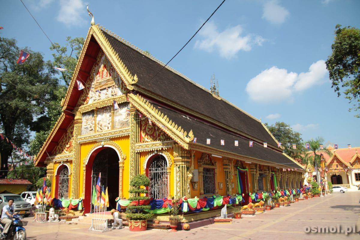 Wat Si Muang w stolicy Laosu Wientian