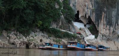Jaskinie Pak Ou w Laosie
