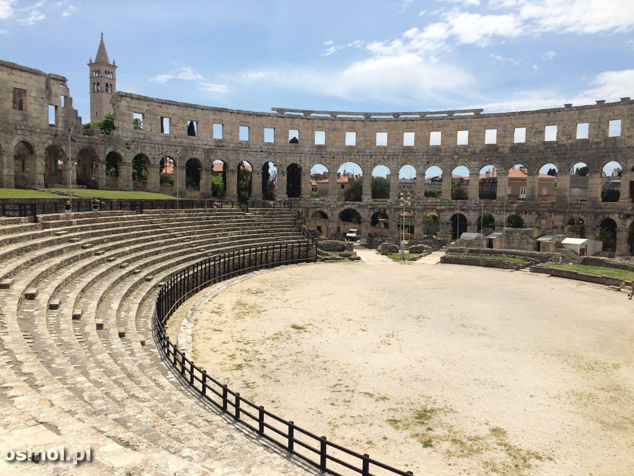 Arena amfiteatru w Puli