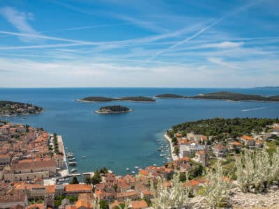 Miasto Hvar Chorwacja