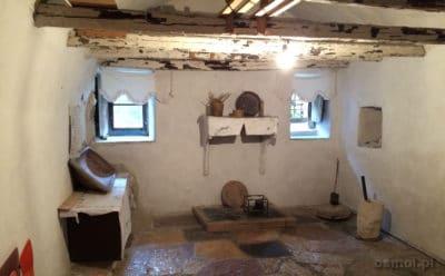 Kuchnia w starym tradycyjnym albanskim domu