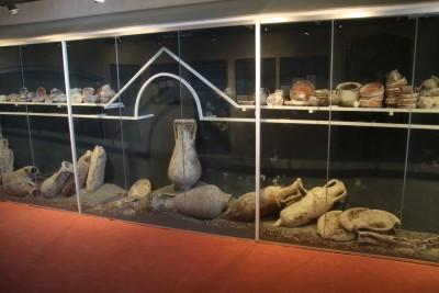 Muzeum z rzeczami wyłowionymi ze statków