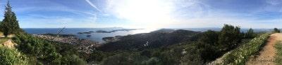 Panorama Hvaru w Chorwacji