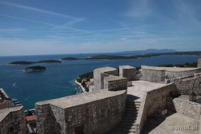 Widok z zamkowych murów