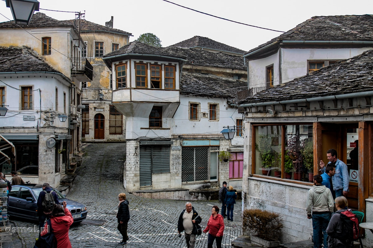 Historyczne i turystyczne centrum Gjirokastry