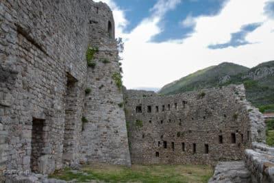 Umocnienia Starego Baru w Czarnogórze