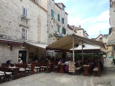 Restauracja w Trogirze