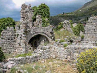 Ruiny Starego Baru w Czarnogórze