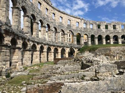 Ruiny amfiteatru w Puli