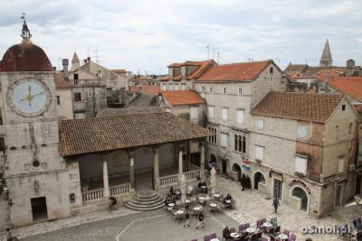 Rynek w Trogirze Chorwacja