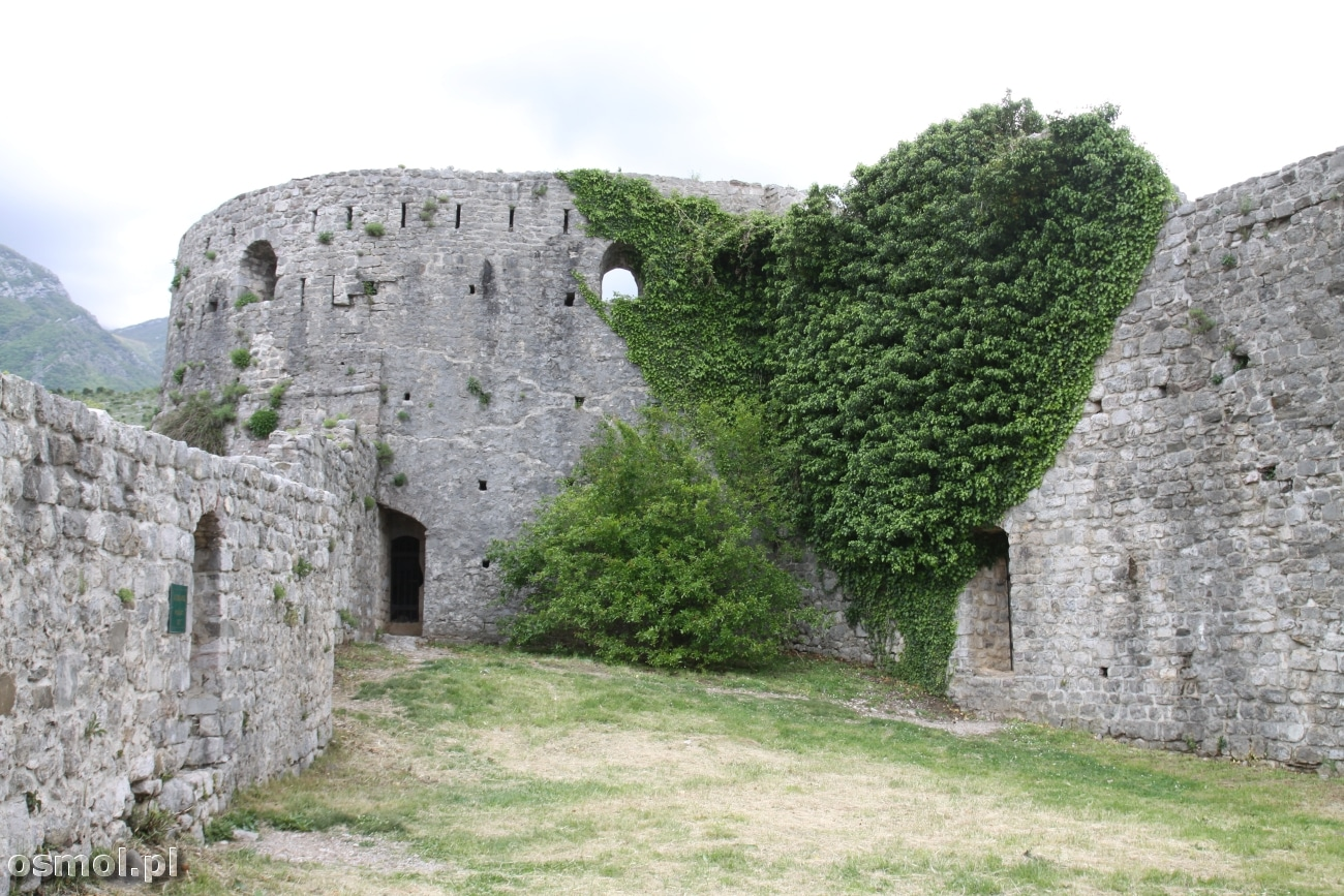 Zamek w Barze - Czarnogóra