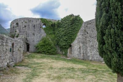 Stary Bar Ruiny wysokiego zamku