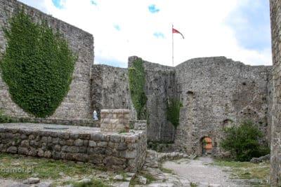 Ruiny twierdzy w Barze Czarnogóra