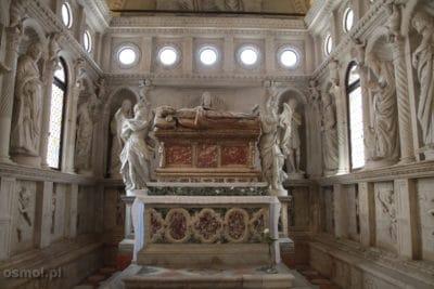 Ołtarz sw. Jana w katedrze w Trogirze w CHorwacji