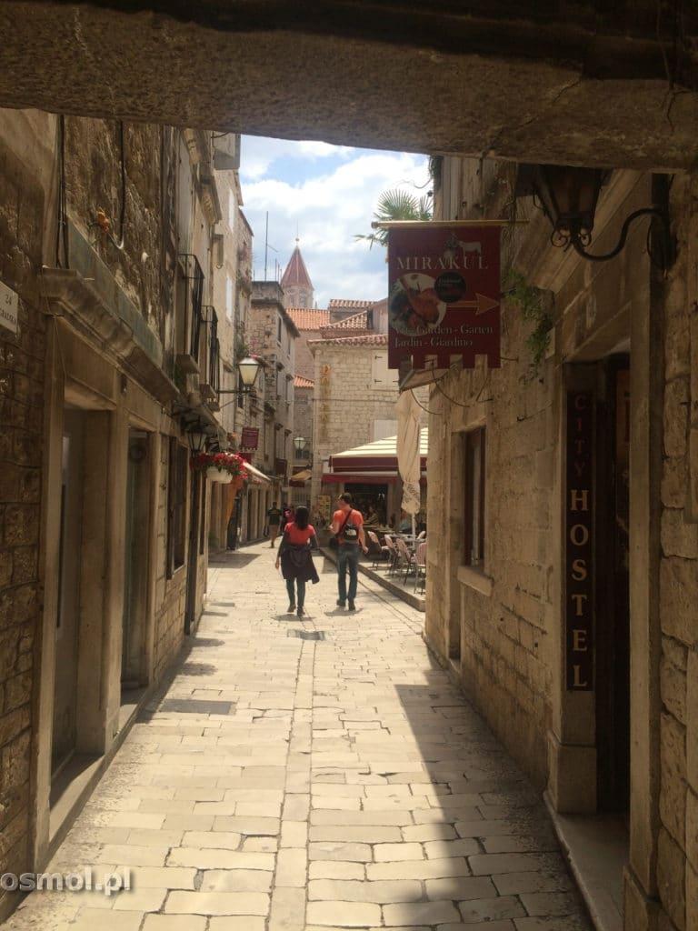 Uliczka w Trogirze