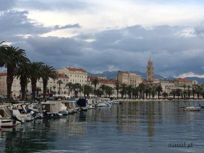 Widok na Split
