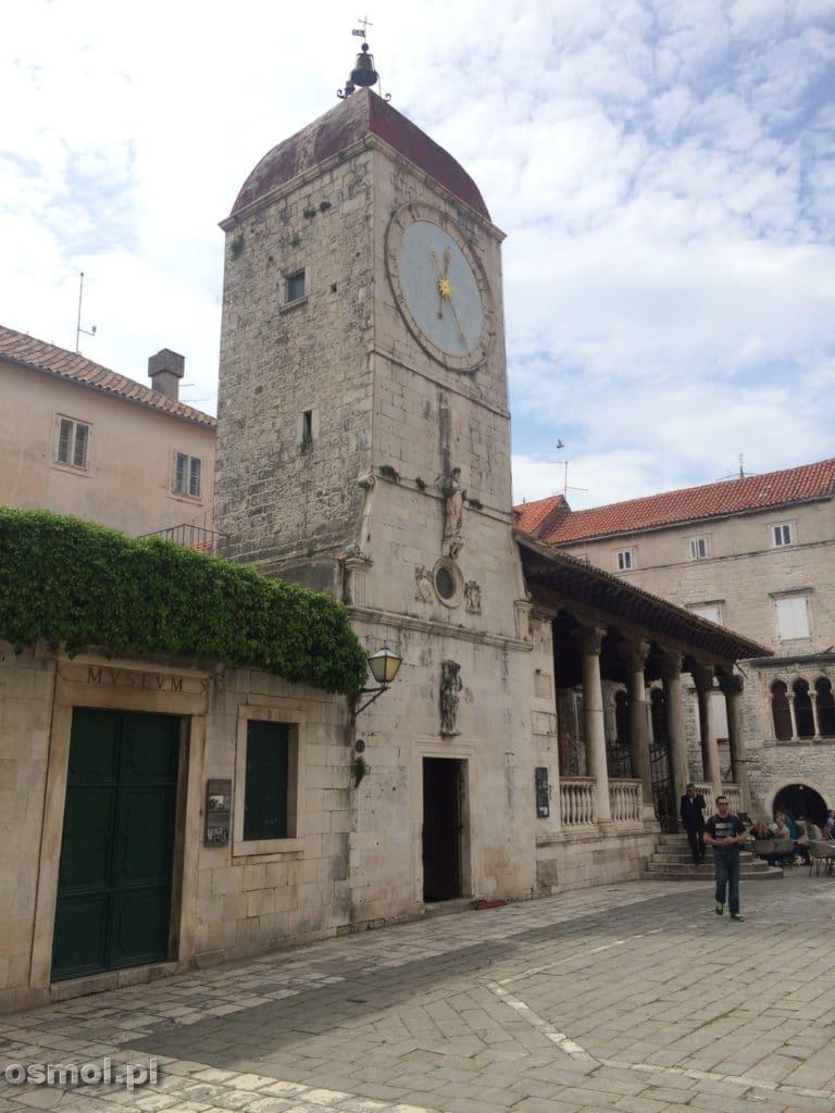 Wieza zegarowa w Trogirze