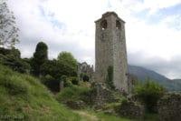 Wieza zegarowa w zamku w Barze Czarnogora