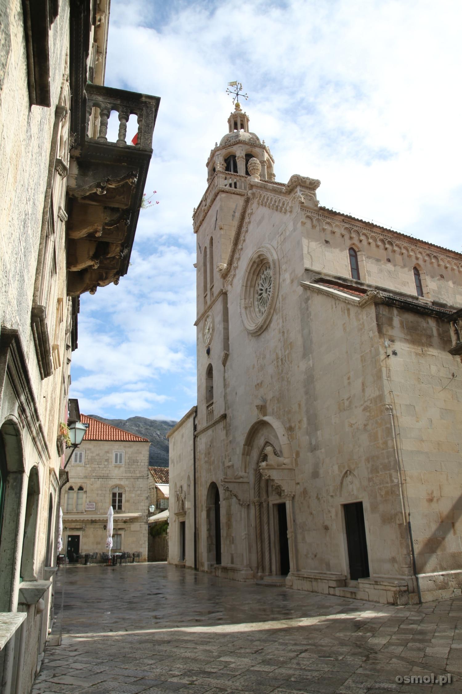 Katedra św. Marka w Korculi