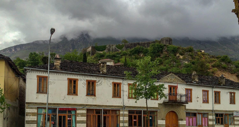 Widok na zamek w Libohovej