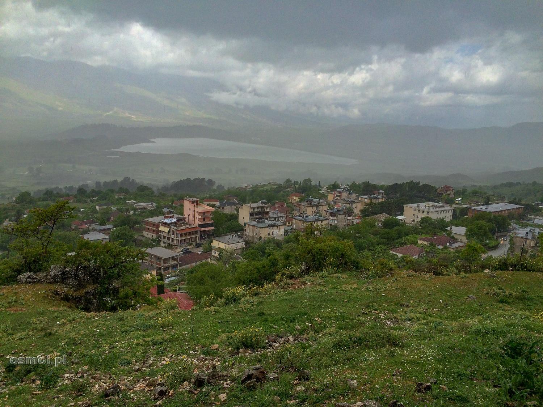 Widok z Libohovej na okolicę.