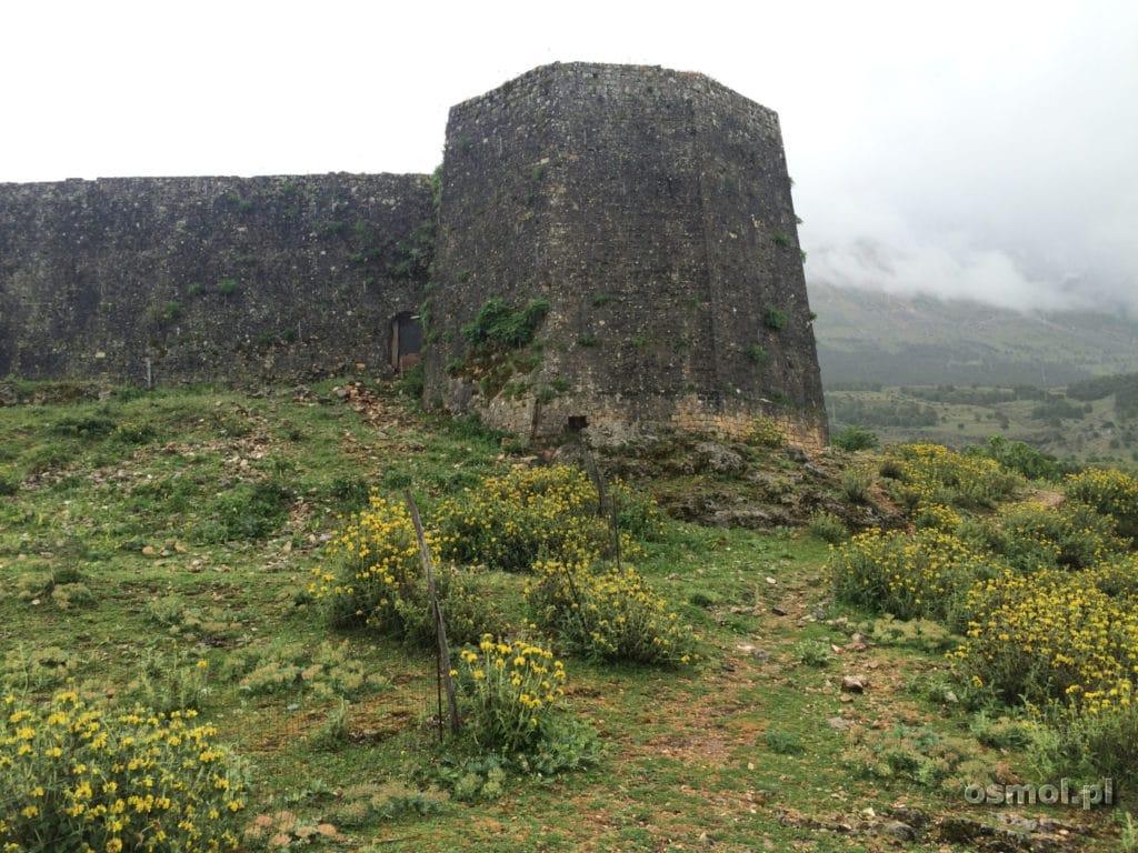 Libohova mury zamku