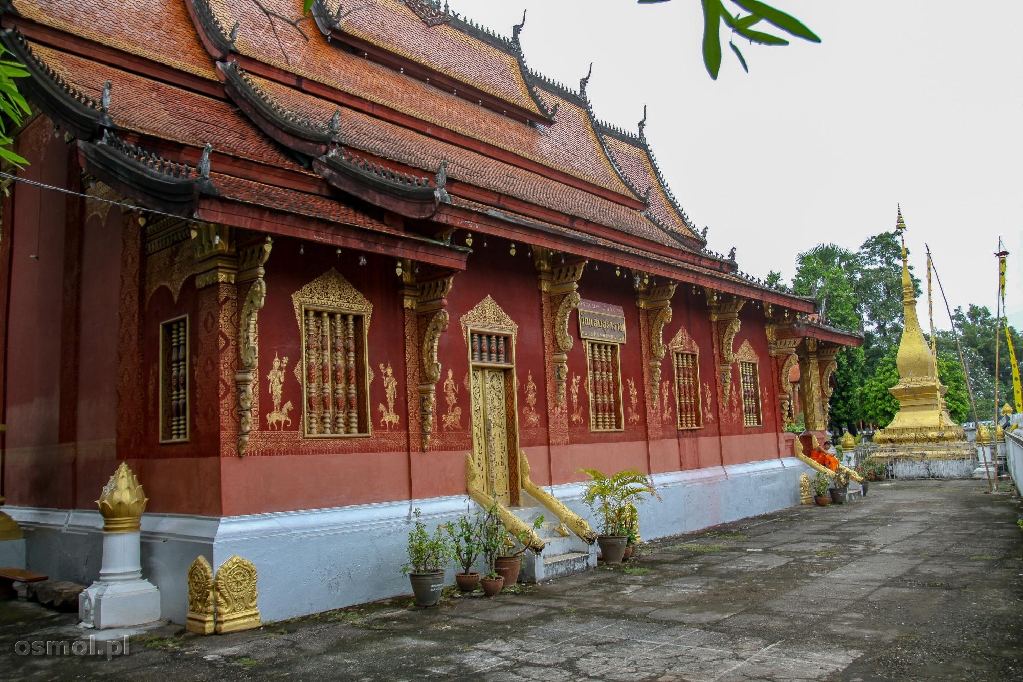 Świątynia w Luang Prabang w Laosie