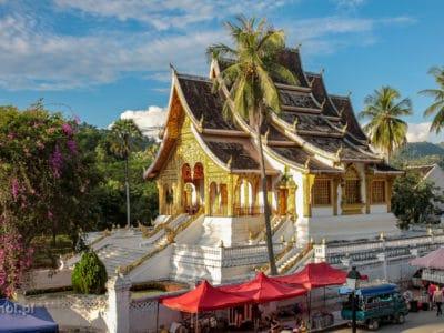 Świątynia buddyjska Haw Pha Bang Luang Prabang