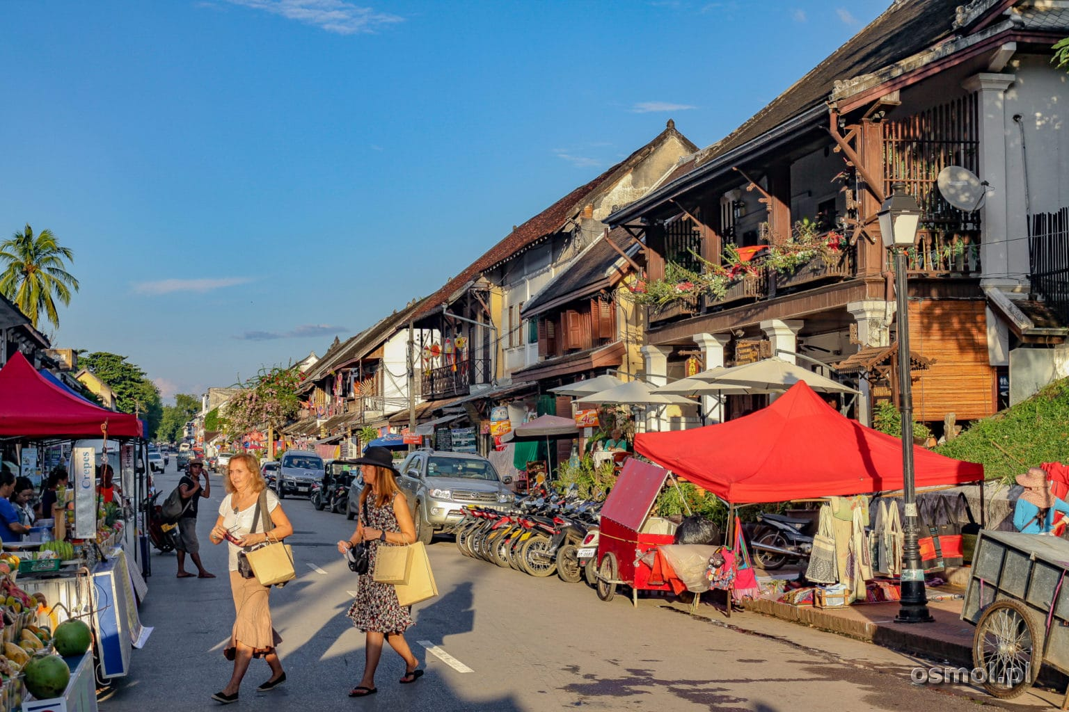 Główna ulica Luang Prabang