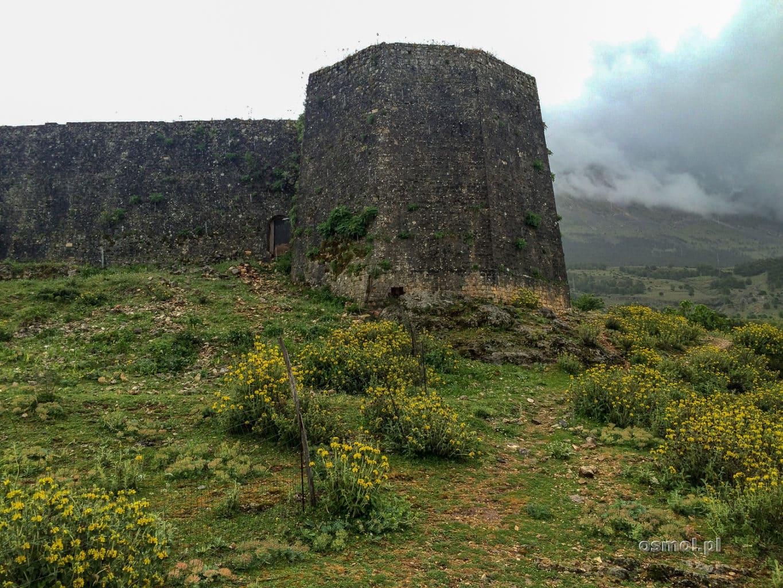 Mury zamku w Libohovej