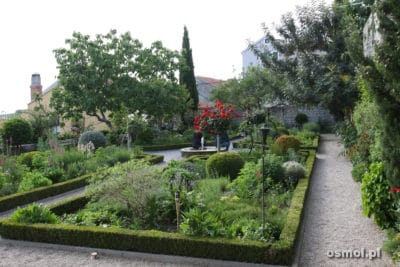 Ogród przyklasztorny