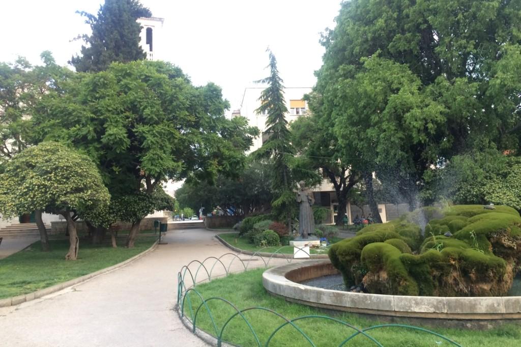 Park w Szybeniku