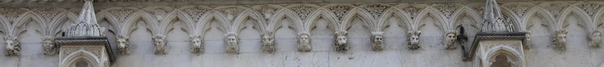 Fryz w katedrze w Szybeniku