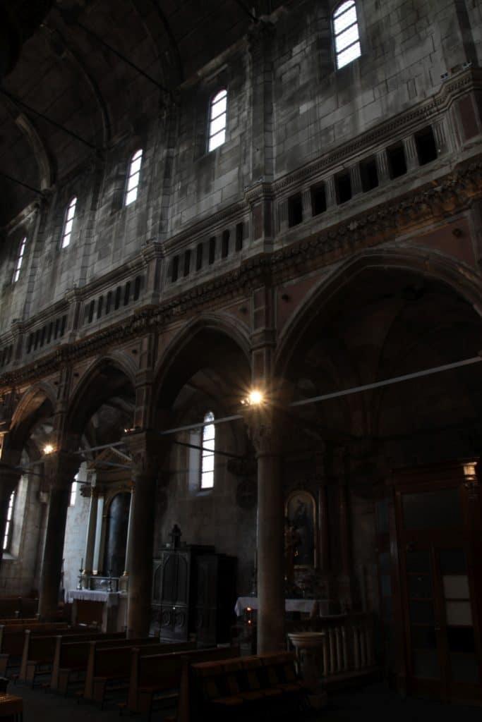 wnetrze katedry sw Jakuba