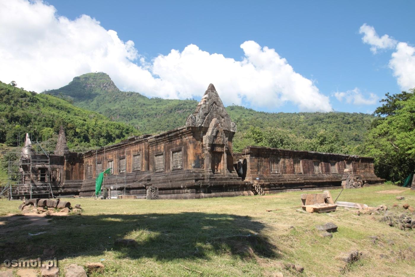 Laos - ruiny świątyni Champasak